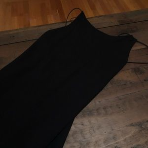 French Connection Dresses - Black dress, backless